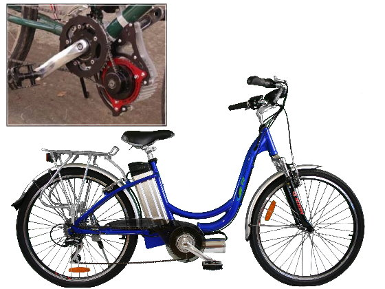Electric Bike Systems chain drive 2